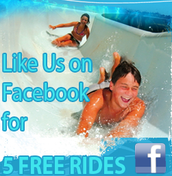 Like Us on Facebook for 5 FREE Rides